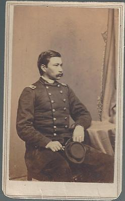 Civil War CDV of Union General George Bayard, Killed at Fredericksburg