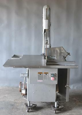 Used Biro Commercial Vertical Meat & Bone Cutting Band Saw Free Shipping!