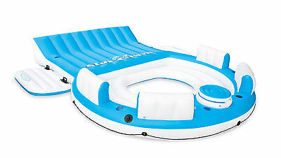 Intex Inflatable Relaxation Island Raft With Backrests and Cooler | 56299CA