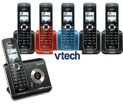 Vtech DS6472 DECT 6.0 Connect to Cell BLUETOOTH 6 Handset Cordless Phone System