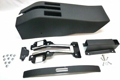 C3 Chevy Corvette Emergency Brake Console Kit With Out Power Windows 1968