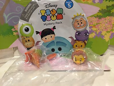 Tsum Tsum Series 5 Collect Em Stack Em Blind Bag Mufasa From Lion King Htf New