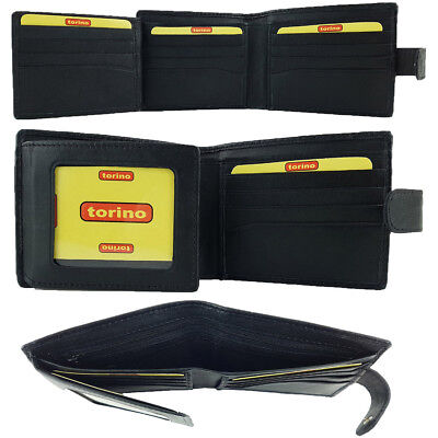 Genuine Sheep Leather Men's Wallet RFID PROTECTED