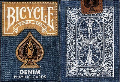 Denim v1 Bicycle Playing Cards Poker Size Deck USPCC Jeans Custom Limited Sealed