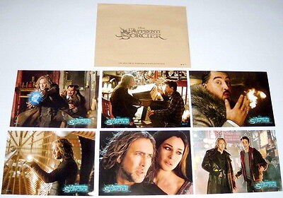 THE SORCERER'S APPRENTiCE Nicolas Cage Jay Baruche Bellucci 6 FRENCH LOBBY CARDs