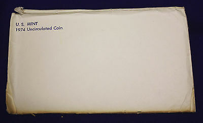 1974 UNCIRCULATED Genuine U.S. MINT SETS ISSUED BY U.S. MINT