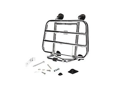 Luggage Rack Chrome Front for Vespa Sprint, Primavera 50 - 125Ccm Since yr. 2013