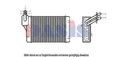 AKS DASIS Heat exchanger, Interior heating 049050N