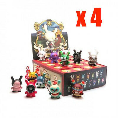 Kidrobot Dunny 2013 Sideshow 1 Brown box = 4 x 20 Blinded box = Total 80 pieces