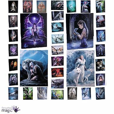 Anne Stokes Lisa Parker Gothic Canvas Plaque Wall Hanging Fantasy Art Home Gift