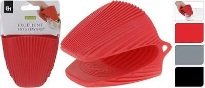 Single Oven Glove Hand Mitt Silicone Grip Oven Kitchen Choice Of Colours