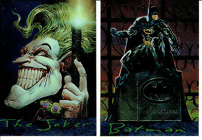 Batman Master Series Set Of 2 Chromium Cards