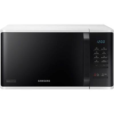 NEW Samsung MS23K3513AW 23 Litre 800W Freestanding Microwave Oven - White
