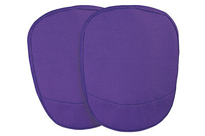 BR030 Garden Knee Pads with Adjustable velcro strap protect knees - Purple