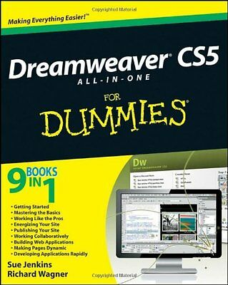 Dreamweaver CS5 All-in-One for Dummies Sue Jenkins Richard Wagner 1 Anglais Book