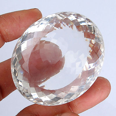 VVS 480 Cts Untreated Natural White Quartz Finest Quality Certified Gemstone