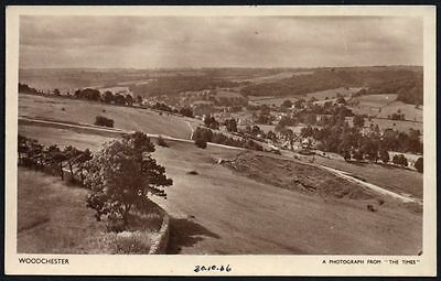 Postcard - Gloucestershire - Woodchester