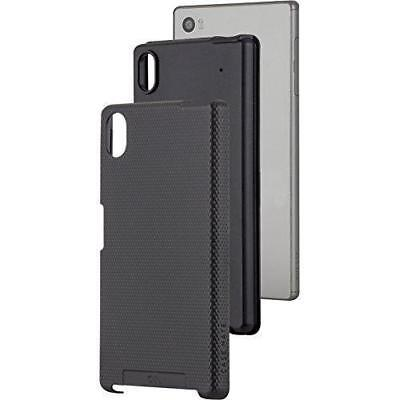 Case-Mate Black Cover for Sony Xperia Z5 Fitted Tough Case Shell Dual Layer