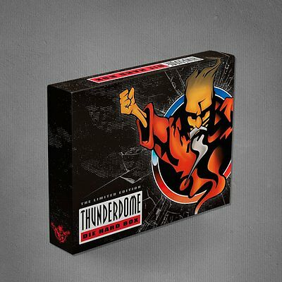 Thunderdome Die Hard BOX Limited 273 / 925 Complete BOXED Gabber Hardcore L / XL