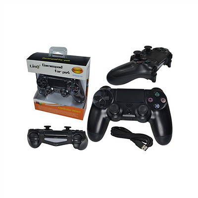 Controller Joypad wireless COMPATIBILE con Sony Playstation 4 PS4 LINQ