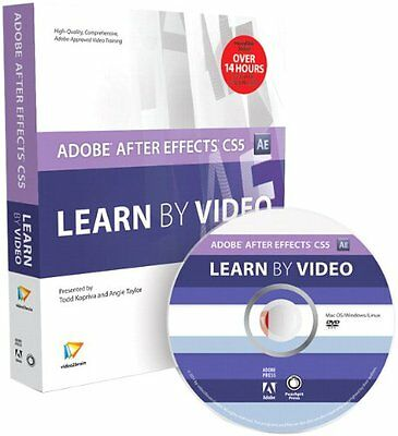 Adobe After Effects CS5 Learn by Video Todd Kopriva, Peachpit Press 1 Anglais