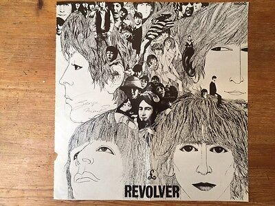 SIR GEORGE MARTIN - HAND SIGNED BEATLES REVOLVER ARTWORK, autograph