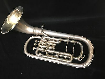 """Beautiful Vintage 1946 Conn """"Naked Lady"""" Alto (tenor) horn in E-flat -Restored"""