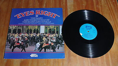 'Eyes Right' THE BAND AND TRUMPETERS OF THE BLUES AND ROYALS vinyl LP GBS1020