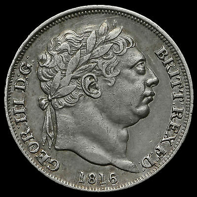 1816 George III Milled Silver Sixpence – GVF+ #2
