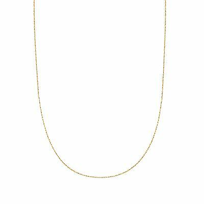 """14K Solid Yellow Gold Lite Rope Chain Necklace 16 18  20  22 24"""" inch"""