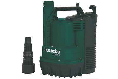 Metabo Flat Absorbent Clear Water Submersible Pump Tp 12000 Si 0251200009 Carton