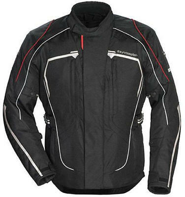 Tourmaster Advanced Textile Motorcycle Jacket Black