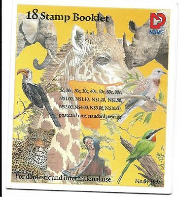 South West Africa  1997  Flara & Fauna, Sb 10, Birds & Animals, Mnh And Complete