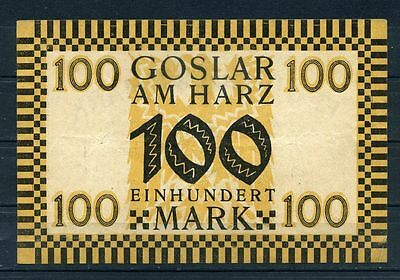 Goslar  -   Magistrat   -   100 Mark
