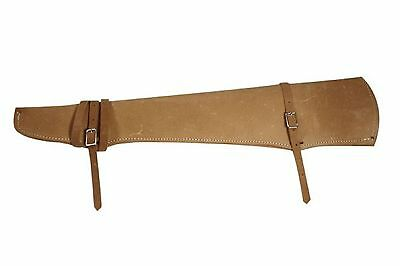 New Leather Rifle Gun Scabbard Holster for Western Saddle/Motorcylce or Hunting