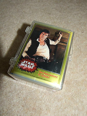 Star Wars Chromium Trading Cards Complete Basic Set (90) - by Topps