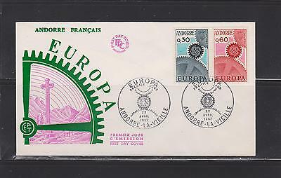 Andorra -  Lot 159 ,   Mint, 1967 , First Day.