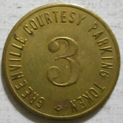 Greenville, Pennsylvania parking token - PA3437A