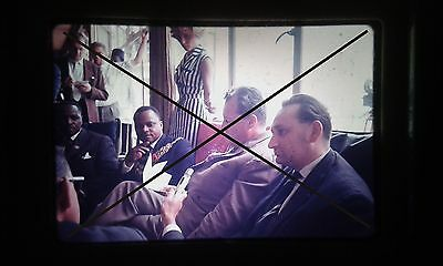 Original Dia Kodak Ektacrome 35 mm slide Willy Brandt in Afrika ? Africa @@ Nr.4