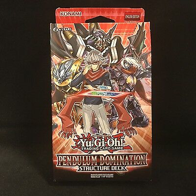 Yu-Gi-Oh! Trading Card Game Pendulum Domination Structure Deck