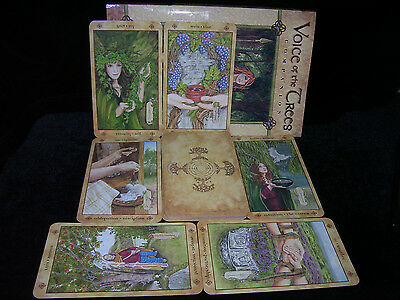 Sealed & Brand New! Voice Of The Trees Card & Book Oracle Celtic Divination