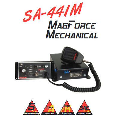 Carson SA-441-17F MECHANICAL MagForce 200w SIREN Dual Tone