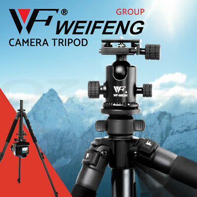 Weifeng Professional Camera Tripod Stand DSLR Ball Head Mount Flexible