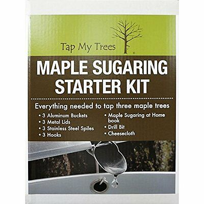 TAP MY TREES Maple Sugar Starter Kit New