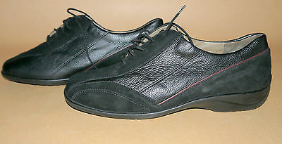 Great Vivo Luftpolster Women's Shoes Leather Suede Black Style: Kim Size 8 M