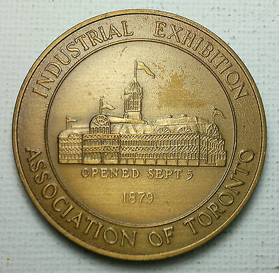 CNE 100, centennial,  Industrial Exhibition As. of Toronto  Medal, medallion
