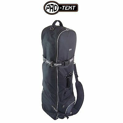 Pro Tekt Wheeled Padded Golf Bag Flight Travel Cover Pro-tekt Golf Bag