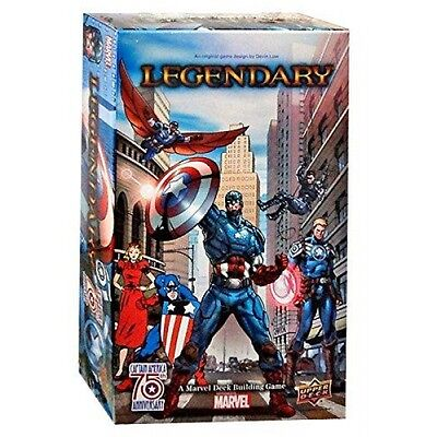 Marvel Captain America 75th Legendary Small Box Expansion Brand New