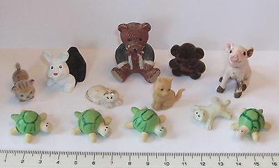 dolls house animal / toys job lot