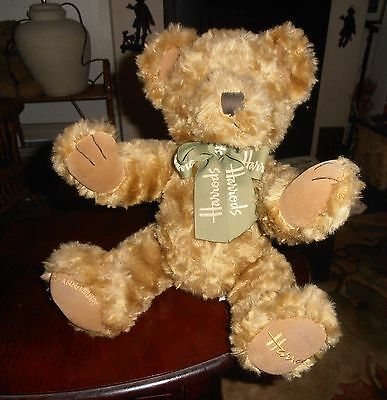 Cute Harrods Teddy Bear With All Tags